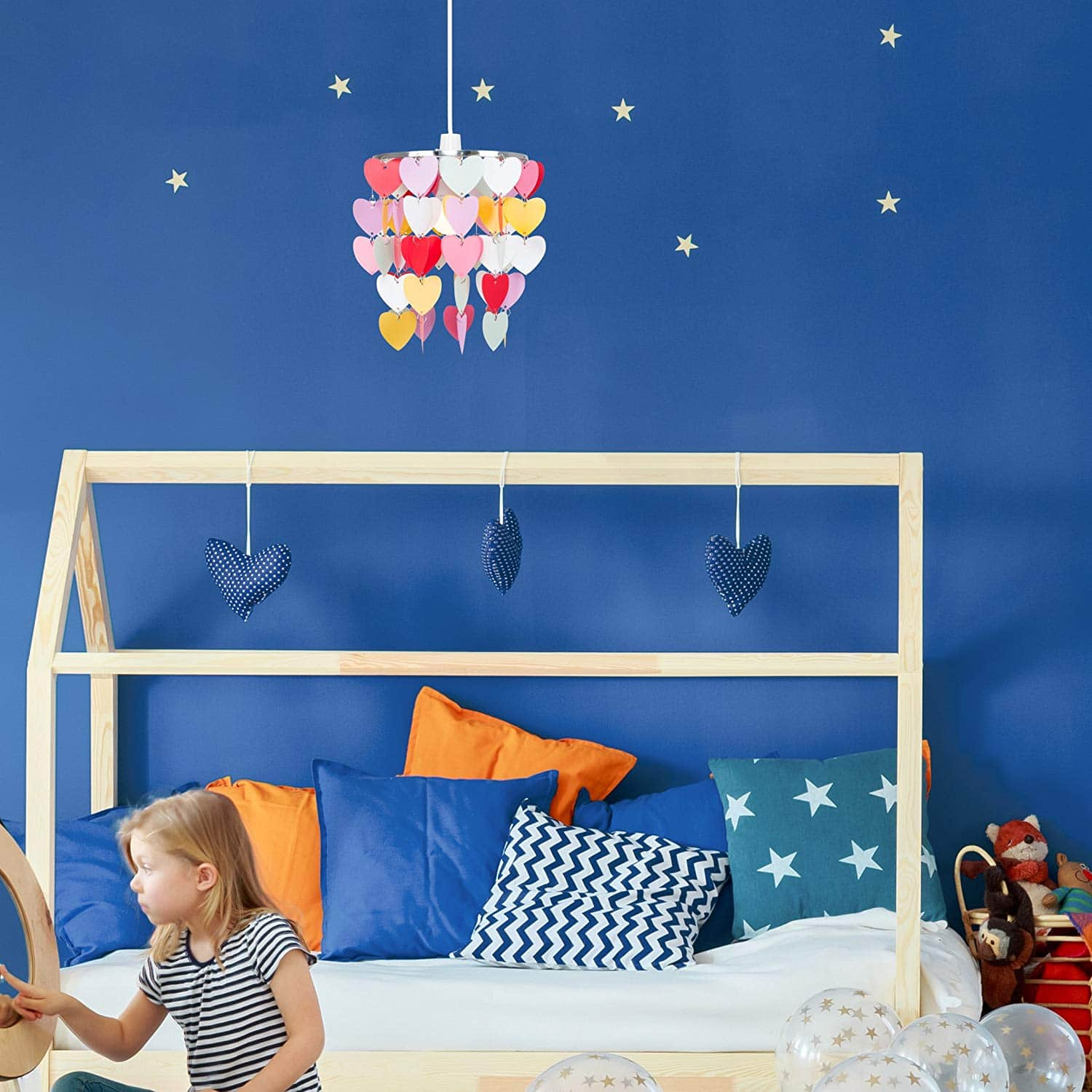 S Pretty Hearts Bedroom Nursery