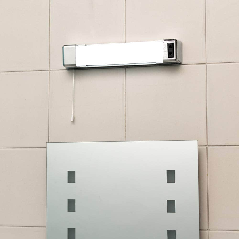 Led Bathroom Wall Light 5w With Shaver