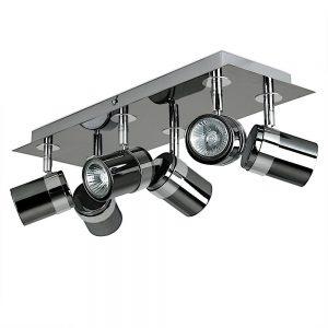 MiniSun-Rosie-Black-Chrome-Chrome-6-Way-Rectangular-Plate-Spotlight-20856-01
