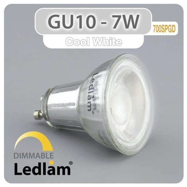Ledlam-GU10-LED-Spot-Light-7W-700SPGD-dimmable-Variant-Cool-White-30988
