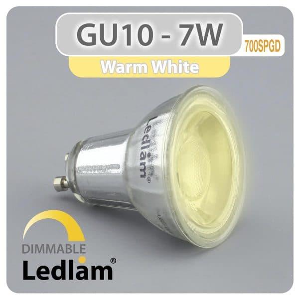 Ledlam-GU10-LED-Spot-Light-7W-700SPGD-dimmable-Variant-Warm-White-30986