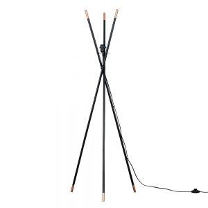 MiniSun-Bedford-Tripod-Floor-Lamp-Gloss-Black-Copper-BASE-ONLY-23462-01