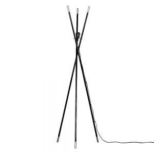 MiniSun-Bedford-Tripod-Floor-Lamp-Gloss-Black-Silver-BASE-ONLY-23463-01