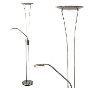 MiniSun-Dawson-Satin-Nickel-LED-Floor-Lamp-21901-01
