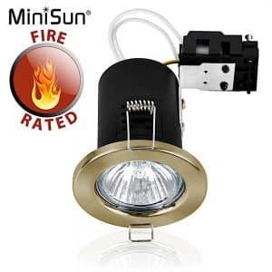 MiniSun-Fire-Rated-GU10-Downlight-Antique-Brassed-NO-BULB-17073-01