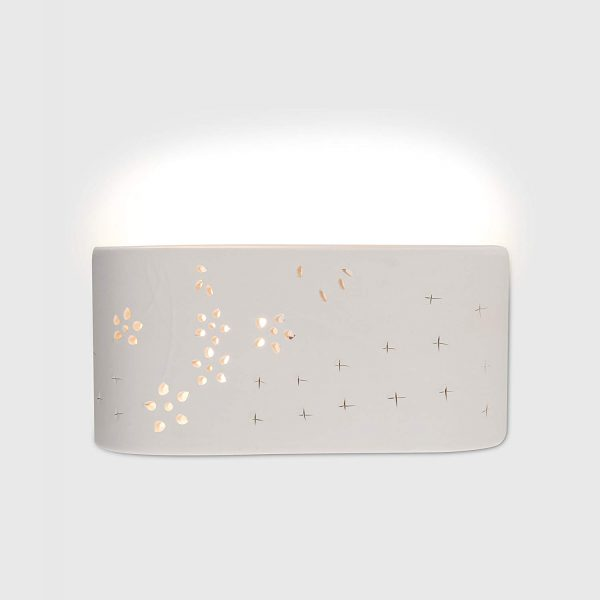 MiniSun-Modern-Planter-Style-Curved-White-Ceramic-Wall-Light-with-Flower-Cut-Out-Design-16285-Other-1