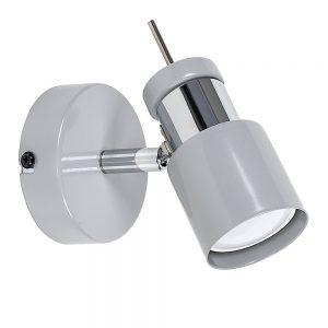 MiniSun-Naysmyth-Single-Grey-Chrome-Ceiling-Spotlight-23779-01