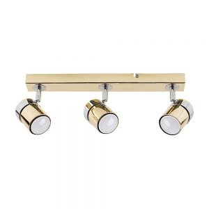 MiniSun-Rosie-3-Way-Straight-Bar-Spot-Light-Chrome-Gold-22245-01