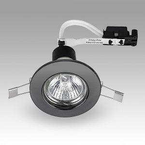 MiniSun-Steel-Fixed-GU10-Downlight-NO-BULB-Black-Chrome-18177-01