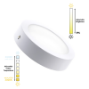 Round-18W-LED-Surface-Panel-with-a-Selectable-Colour-Temp.-Dimmable-CCT-PLFNR-18-01